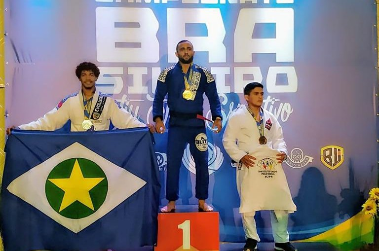 35a6afe873 Cerca de 220 lutadores mato-grossenses disputaram o Campeonato Brasileiro  de Jiu-Jítsu Esportivo